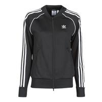 Textiel Dames Trainings jassen adidas Originals SST TRACKTOP PB Zwart
