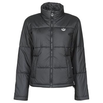 Textiel Dames Dons gevoerde jassen adidas Originals SHORT PUFFER Zwart