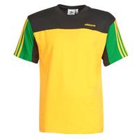 Textiel Heren T-shirts korte mouwen adidas Originals CLASSICS SS TEE Goud / Actif