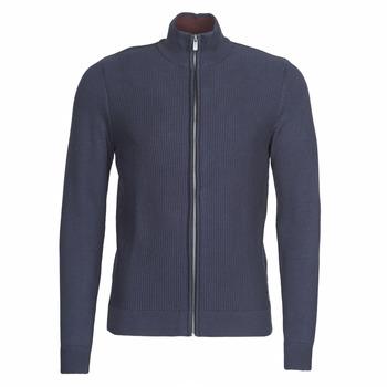 Textiel Heren Vesten / Cardigans Tom Tailor 1020418-10690 Marine