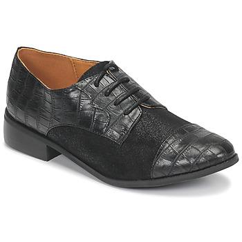 Schoenen Dames Derby Moony Mood NOULESSE Zwart