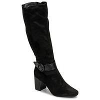Schoenen Dames Hoge laarzen Moony Mood NISTI Zwart