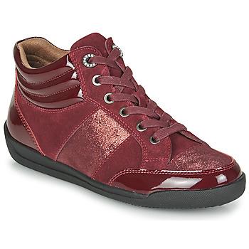 Schoenen Dames Hoge sneakers Damart 57079 Bordeau