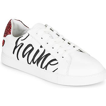 Schoenen Dames Lage sneakers Bons baisers de Paname SIMONE AMOUR/HAINE Wit
