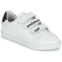 Schoenen Dames Lage sneakers Bons baisers de Paname EDITH EMBRASSE MOI Wit
