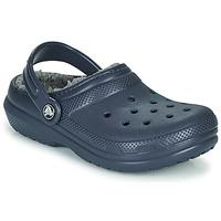 Schoenen Jongens Klompen Crocs CLASSIC LINED CLOG K Blauw