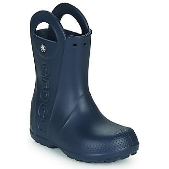 Schoenen Kinderen Regenlaarzen Crocs HANDLE IT RAIN BOOT Marine