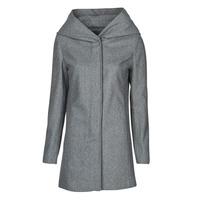 Textiel Dames Mantel jassen Moony Mood NANTE Grijs / Donker