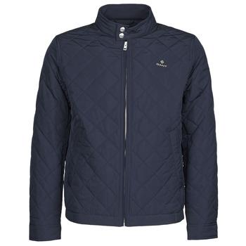 Textiel Heren Wind jackets Gant QUILTED WINDCHEATER Marine
