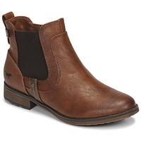 Schoenen Dames Laarzen Mustang 1265501 Bruin
