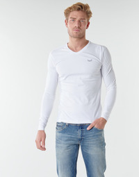 Textiel Heren T-shirts met lange mouwen Kaporal VIFT Zwart - wit