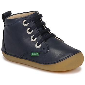 Schoenen Kinderen Laarzen Kickers SONIZA Marine
