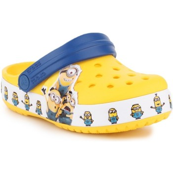 Schoenen Kinderen Klompen Crocs Fun Lab Minions Multi Clog 205512-730 yellow