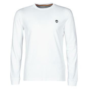 Textiel Heren T-shirts met lange mouwen Timberland LS Dunstan River Tee Wit