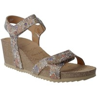 Schoenen Dames Sandalen / Open schoenen Calzados Penelope Penelope Collection 5754 Sandalias con Cuña de Mujer Beige