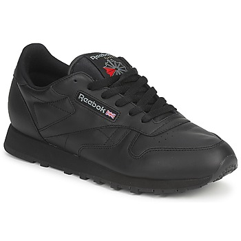 Schoenen Lage sneakers Reebok Classic CLASSIC LEATHER Zwart