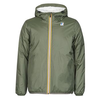 Textiel Heren Wind jackets K-Way LE VRAI 3.0 CLAUDE ORSETTO Kaki