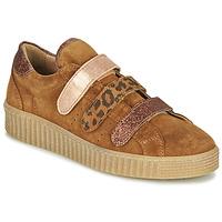 Schoenen Dames Lage sneakers Philippe Morvan ZEUS2 V1 SILKY CAMEL Bruin
