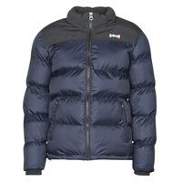 Textiel Dons gevoerde jassen Schott UTAH Marine / Zwart