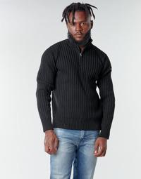 Textiel Heren Truien Schott PLECORAGE2 Zwart