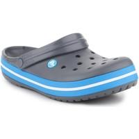 Schoenen Heren Leren slippers Crocs Crocband  11016-07W grey