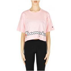 Textiel Dames T-shirts korte mouwen Champion CREWNECK T-SHIRT ps024-cnp