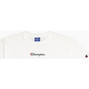 Textiel Dames T-shirts korte mouwen Champion CROP TOP ww001-wht