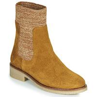 Schoenen Dames Laarzen Bensimon BOOTS CHAUSSETTE Bruin