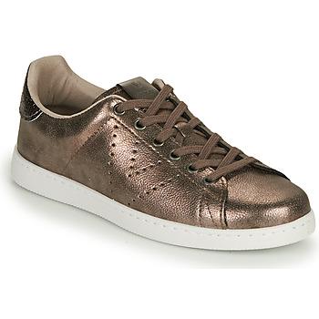 Schoenen Dames Lage sneakers Victoria TENIS METALIZADO Grijs