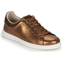 Schoenen Dames Lage sneakers Victoria TENIS METALIZADO Brons