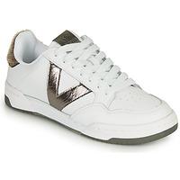 Schoenen Dames Lage sneakers Victoria CRONO PIEL Wit / Brons