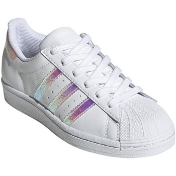 Schoenen Dames Lage sneakers adidas Originals Superstar Wit