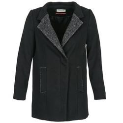 Textiel Dames Mantel jassen Naf Naf ALEXIA Zwart