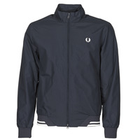 Textiel Heren Wind jackets Fred Perry BRENTHAM JACKET Marine