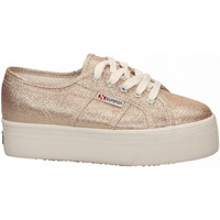 Schoenen Dames Lage sneakers Superga 2790-LAMEW 941-rose-platinum