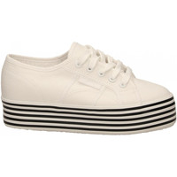 Schoenen Dames Lage sneakers Superga 2790-MULTICOLOR COTW a0z-white-black-white-st