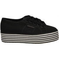 Schoenen Dames Lage sneakers Superga 2790-MULTICOLOR COTW a1a-black-black-white-st