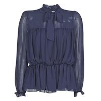 Textiel Dames Tops / Blousjes Naf Naf HAZUL C1 Marine