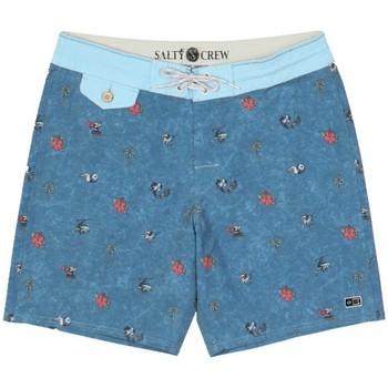 Textiel Heren Zwembroeken/ Zwemshorts Salty Crew  Blauw
