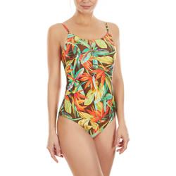 Textiel Dames Badpak Selmark Bird Of Paradise  Mare 1-delig multi-positie zwempak Donkergroen