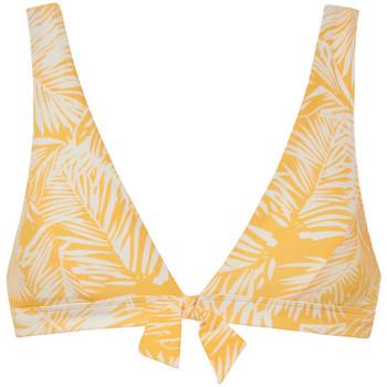 Textiel Dames Bikinibroekjes- en tops Beachlife Palm Glow  driehoekig badpak topje zonder beugel Lavendel