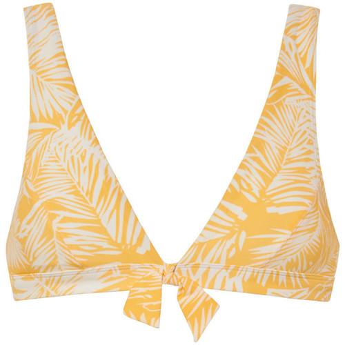 Textiel Dames Bikinibroekjes- en tops Beachlife Driehoekig zwempak topje zonder beugel Palm Glow Lavendel