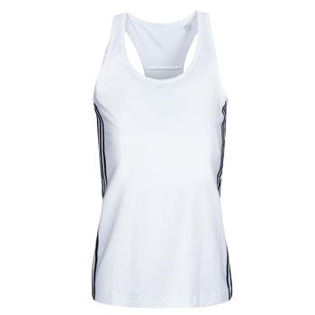 Textiel Dames Mouwloze tops adidas Performance W D2M 3S TANK Wit