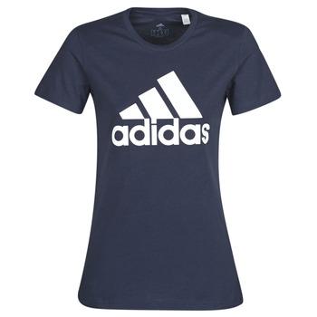 Textiel Dames T-shirts korte mouwen adidas Performance W BOS CO TEE Blauw