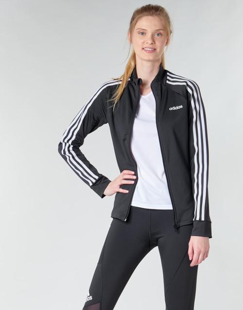 Textiel Dames Trainings jassen adidas Performance W D2M 3S TT Zwart