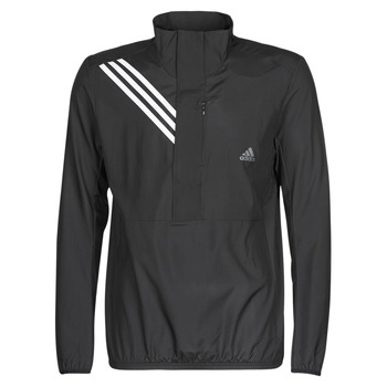 Textiel Heren Sweaters / Sweatshirts adidas Performance OWN THE RUN JKT Zwart