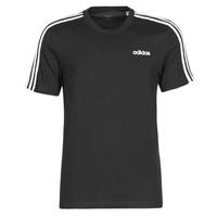 Textiel Heren T-shirts korte mouwen adidas Performance E 3S TEE Zwart