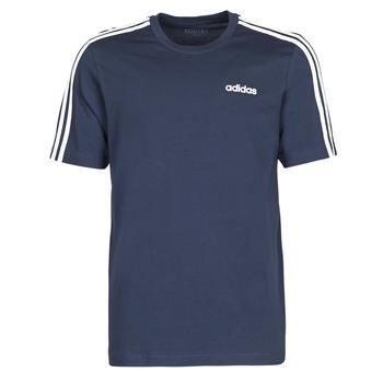 Textiel Heren T-shirts korte mouwen adidas Performance E 3S TEE Inkt / Légende