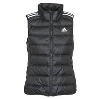 Textiel Dames Dons gevoerde jassen adidas Performance W ESS DOWN VES Zwart