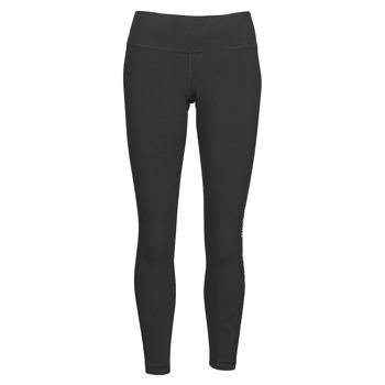 Textiel Dames Leggings Reebok Classic TE LINEAR LOGO CT L Zwart